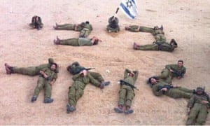 """IDF soldiers in Israel spell out """"Bibi Loser"""" in Hebrew"""