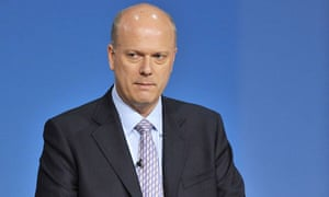 Chris Grayling MP, Secretary of State for Justice
