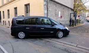 Nicolas Sarkozy car