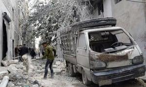 Syrian rebels Aleppo hospital