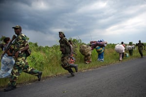 Displaced Congolese: Displaced Congolese