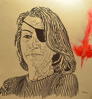 Syria Relief: Shattered Beauty exhibition, Hamid Sulaiman
