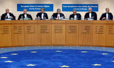 Judges in the European court of human rights