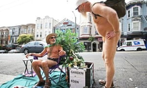 Naturist George Davis in San Franciso