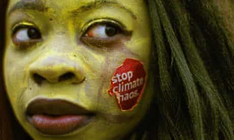 Climate protest in Dublin