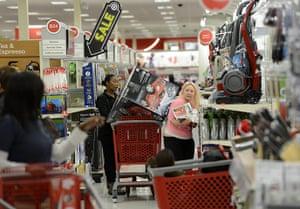 Black Friday: Holiday shoppers in Atlanta