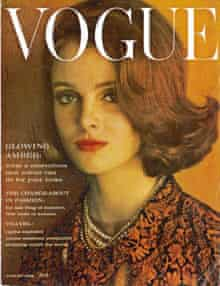 Grace Coddington's first British Vogue cover.