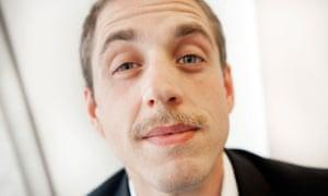Movember ambassador Ben Bowers