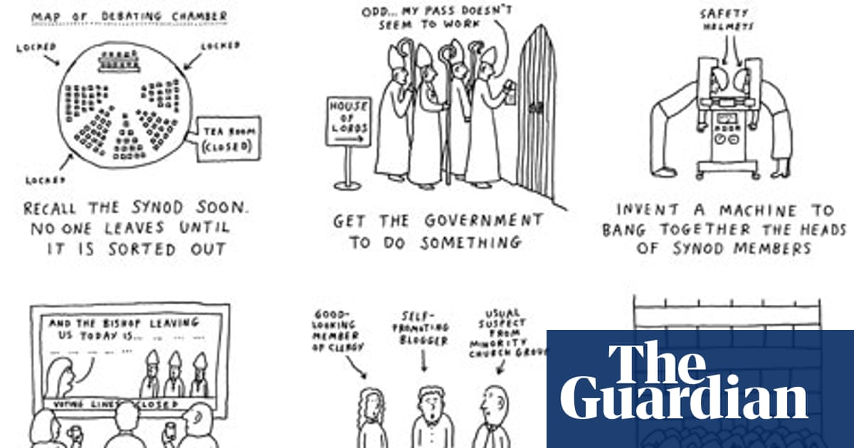 Women bishops: ways out of this mess - cartoon | Dave Walker