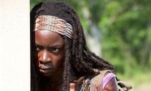 Michonne (Danai Gurira) in The Walking Dead - Season 3, Episode 6