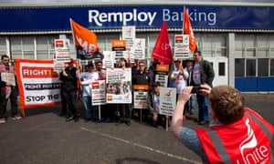 Remploy workers