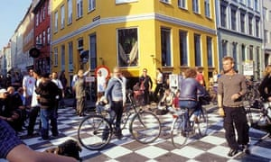 Young people in Copenhagen