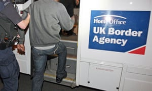 UKBA raid in search for illegal immigrants