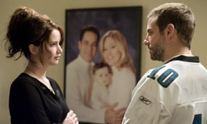 Jennifer Lawrence and Bradley Cooper in David O Russell's Silver Linings Playbook