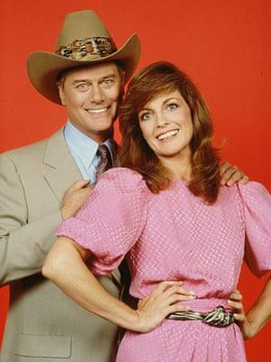 Larry Hagman: Larry and Linda