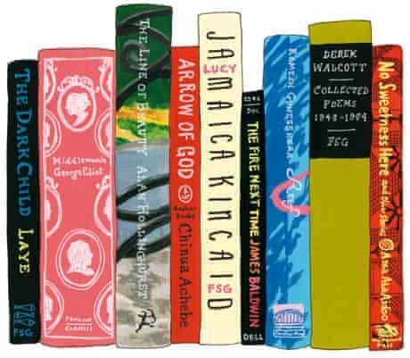 Adichie Chimamanda's ideal bookshelf