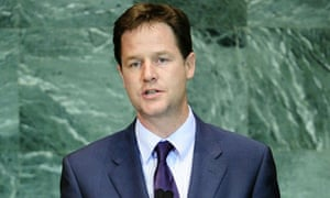 Nick Clegg at the UN