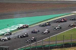 F1 season review: Senna and Vettel collide