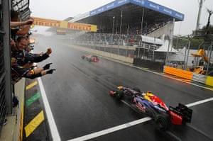 F1 season review: Vettel crosses the line