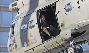 Tom Cruise filming in London, Nov 2012