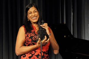 Evening Standard Awards : Lolita Chakrabarti accepts the Award for Most Promising Playwright