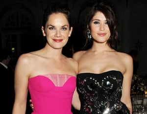 Standard Theatre Awards: Ruth Wilson (L) and Gemma Arterton attend an after party