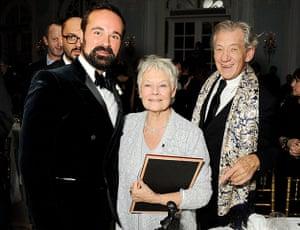 Standard Theatre Awards: Evgeny Lebedev, Dame Judi Dench and Sir Ian McKellen