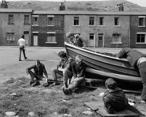 Deutsche Borse: Boat repair, Skinningrove, North Yorkshire, 1983 by Chris Killip