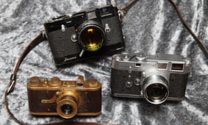 Someone obviously leica these cameras: a Leica M3D, top, that was auctioned for 1.68M euros last Saturday in Switzerland. Along with a Luxus Leica (left) from 1929 that was auctioned off for 1.02M euros and a Leica M3 for 900.000 euros.