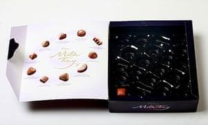 An empty box of chocolates