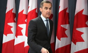 Mark Carney, the next governor of the Bank of England