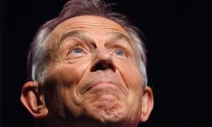 Seeing the light: Former Prime Minister Tony Blair gestures at the Tony Blair Faith Foundation Faith Shorts awards in central London. Photograph: Dominic Lipinski/PA