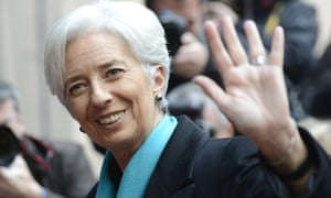 Managing Director of the International Monetary Fund (IMF) Christine Lagarde arrives for Eurozone finance ministers meeting in Brussels