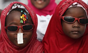 Nigeria  Muslims attends Eid al-Fitr prayers