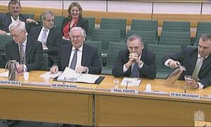 Mervyn King, at the Treasury Committee on November 27 2012