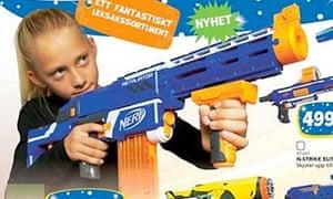 Girl with Nerf gun – Swedish Christmas ad campaign