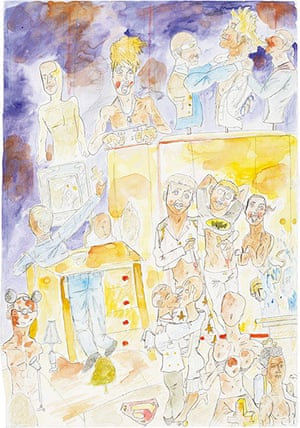 New Contemporaries: Nicola Frimpong, Untitled, 2010, Watercolour