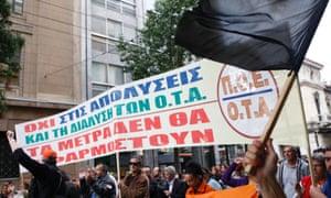 Photograph: Aristidis Vafeiadakis/ZUMA Press/Corbis