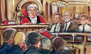 Court sketch of jury in Harold Shipman case