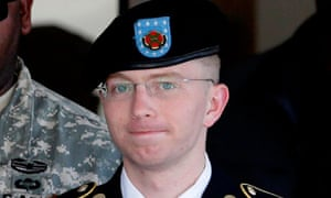Bradley Manning leaves the courthouse in Fort Meade