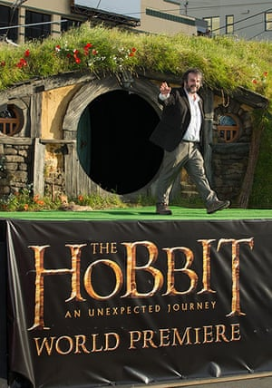 The Hobbit premiere: Peter Jackson