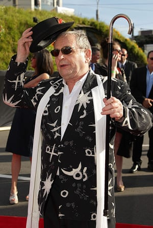 The Hobbit premiere: Sylvester McCoy, who plays wizard Radagast the Brown