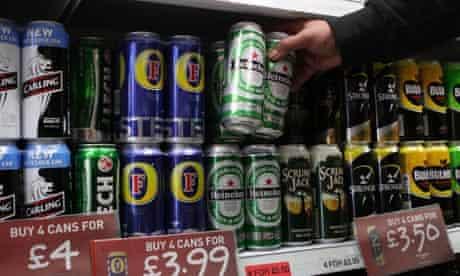Alcohol unit minimum price