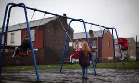 Child Poverty swings