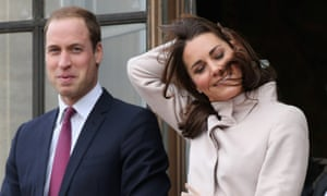 This would never happen to the wax version. Catherine, Duchess of Cambridge has a few issues with her hair as she and Prince William, Duke of Cambridge wave to the crowds from the balcony of Cambridge Guildhall as they pay an official visit to the city.