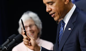 Barack Obama pen