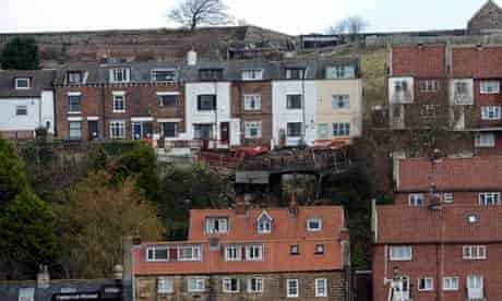 Whitby houses damaged by flooding