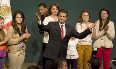 Enrique Pena Nieto leads in Mexican elections.