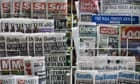 """""""A stand of newspapers"""""""
