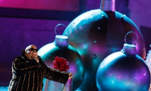Singer Cee Lo Green performs during the 80th Annual Rockefeller Center Christmas Tree Lighting Ceremony in New York.